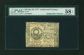 Colonial Notes:Continental Congress Issues, Continental Currency May 20, 1777 $30 PMG Choice About Unc 58 EPQ....