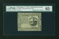 Colonial Notes:Continental Congress Issues, Continental Currency February 17, 1776 $2 PMG Gem Uncirculated 65 EPQ....