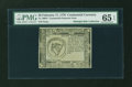 Colonial Notes:Continental Congress Issues, Continental Currency February 17, 1776 $8 PMG Gem Uncirculated 65EPQ....