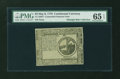 Colonial Notes:Continental Congress Issues, Continental Currency May 9, 1776 $2 PMG Gem Uncirculated 65 EPQ....