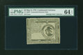 Colonial Notes:Continental Congress Issues, Continental Currency May 9, 1776 $3 PMG Choice Uncirculated 64EPQ....