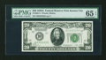 Small Size:Federal Reserve Notes, Fr. 2051-J $20 1928A Federal Reserve Note. PMG Gem Uncirculated 65 EPQ.. ...