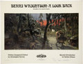 Memorabilia:Poster, Berni Wrightson: A Look Back Signed Promotional Poster,#65/350 (Land of Enchantment, 1978)....