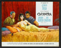 """Movie Posters:Historical Drama, Cleopatra (20th Century Fox, 1963). Deluxe Lobby Cards Set of 9plus one (11"""" X 14""""). Historical Drama.. ... (Total: 10 Items)"""