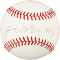 Autographs:Baseballs, Circa 1970 Joe McCarthy Single Signed Baseball....