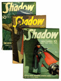 Pulps:Detective, Shadow Group (Street & Smith, 1939-40) Condition: AverageVG.... (Total: 4 )