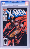 Modern Age (1980-Present):Superhero, X-Men #212 (Marvel, 1986) CGC NM/MT 9.8 White pages....