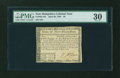 Colonial Notes:New Hampshire, New Hampshire April 29, 1780 $8 PMG Very Fine 30....