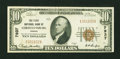 National Bank Notes:Virginia, Christiansburg, VA - $10 1929 Ty. 1 The First NB Ch. # 7937. ...