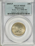 Statehood Quarters, 2005-P 25C Extra Tree Minnesota MS65 PCGS. DDR-001. PCGS Population (109/55). (#144227)...