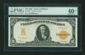 Large Size:Gold Certificates, Fr. 1167 $10 1907 Gold Certificate PMG Extremely Fine 40 EPQ....