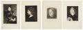 Antiques:Posters & Prints, Exceptional Group of Nine Engraved Portraits of 19th Century Women.Various plate imprint sizes, page size overall 11.5 inch... (Total:9 Items)