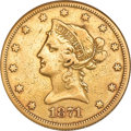 Liberty Eagles, 1871-CC $10 --Cleaned--ANACS. VF30 Details....
