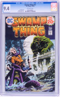 Bronze Age (1970-1979):Horror, Swamp Thing #11 (DC, 1974) CGC NM 9.4 Off-white pages....