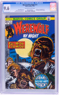 Bronze Age (1970-1979):Horror, Werewolf by Night #11 (Marvel, 1973) CGC NM+ 9.6 Off-white to whitepages....