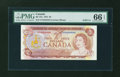 Canadian Currency: , BC-47a $2 1974. ...