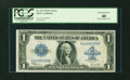 Error Notes:Large Size Errors, Fr. 237 $1 1923 Silver Certificate PCGS Extremely Fine 40....