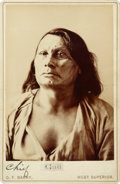 American Indian Art:Photographs, GALL. c. 1883...