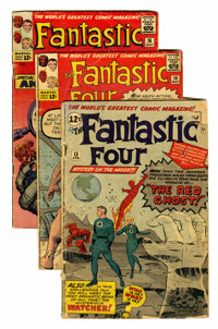 Fantastic Four Group (Marvel, 1963).... (Total: 5 Comic Books)