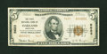 National Bank Notes:Maryland, Oakland, MD - $5 1929 Ty. 2 The First NB Ch. # 5623. ...