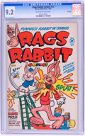 Golden Age (1938-1955):Funny Animal, Rags Rabbit Comics #13 File Copy (Harvey, 1951) CGC NM- 9.2 Creamto off-white pages....