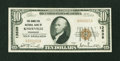 National Bank Notes:Tennessee, Knoxville, TN - $10 1929 Ty. 1 The Hamilton NB Ch. # 13539. ...