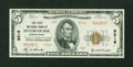 National Bank Notes:Pennsylvania, Intercourse, PA - $5 1929 Ty. 2 The First NB Ch. # 9216. ...