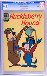 Huckleberry Hound #14 File Copy (Dell, 1961) CGC NM/MT 9.8 Off-white to white pages