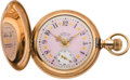 Timepieces:Pocket (pre 1900) , Waltham Model 84 Riverside With Fancy Dial, circa 1893. ...