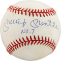 Autographs:Baseballs, Mickey Mantle UDA Single Signed Baseball. ...