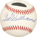 Autographs:Baseballs, Ted Williams Single Signed Baseball PSA NM-MT 8.5. ...