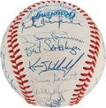 Autographs:Baseballs, 1988 Kansas City Royals Team Signed Baseball. ...