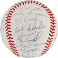 Autographs:Baseballs, 1989 Detroit Tigers Team Signed Baseball. ...