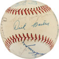 Autographs:Baseballs, Detroit Tigers Old Timers Signed Baseball from Elden AukerCollection. ...