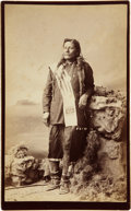 "American Indian Art:Photographs, ""TOM, UTE WARRIOR"" . c. 1882..."