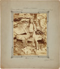American Indian Art:Photographs, YELLOW BEAR. c. 1875. ...