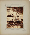 American Indian Art:Photographs, LITTLE CHIEF. c. 1875...