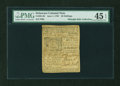 Colonial Notes:Delaware, Delaware June 1, 1759 20s PMG Choice Extremely Fine 45 EPQ....