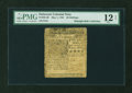 Colonial Notes:Delaware, Delaware May 1, 1758 20s PMG Fine 12 NET....