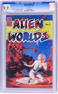 Modern Age (1980-Present):Science Fiction, Alien Worlds #5 (Pacific Comics/Eclipse, 1983) CGC MT 9.9 Whitepages....