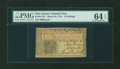 Colonial Notes:New Jersey, New Jersey March 25, 1776 12s PMG Choice Uncirculated 64 EPQ....