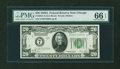 Small Size:Federal Reserve Notes, Fr. 2051-G $20 1928A Federal Reserve Note. PMG Gem Uncirculated 66 EPQ.. ...