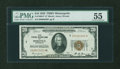 Small Size:Federal Reserve Bank Notes, Fr. 1870-I* $20 1929 Federal Reserve Bank Note. PMG About Uncirculated 55.. ...