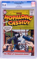 Silver Age (1956-1969):Western, Hopalong Cassidy #118 (DC, 1956) CGC NM 9.4 White pages....
