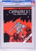 Bronze Age (1970-1979):Alternative/Underground, Cerebus The Aardvark #1 Counterfeit (No Publisher Listed, No Date) CGC NM 9.4 White pages....