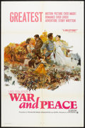 """Movie Posters:Drama, War and Peace (Continental, 1968). One Sheet (27"""" X 41""""). Drama....."""