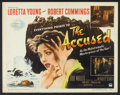 """Movie Posters:Mystery, The Accused (Paramount, 1949). Half Sheet (22"""" X 28"""") Style B.Mystery.. ..."""