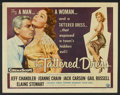 "Movie Posters:Film Noir, The Tattered Dress (Universal International, 1957). Half Sheet (22"" X 28"") Style A. Film Noir.. ..."