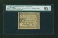 Colonial Notes:Pennsylvania, Pennsylvania October 25, 1775 2s6d PMG Gem Uncirculated 65 EPQ....