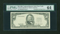 Error Notes:Third Printing on Reverse, Fr. 2125-B $50 1993 Federal Reserve Note. PMG Choice Uncirculated 64.. ...